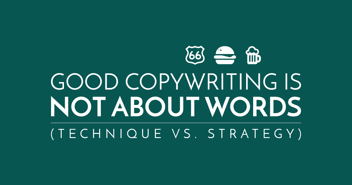 Forget About Words. THIS Is What Copywriting Is All About