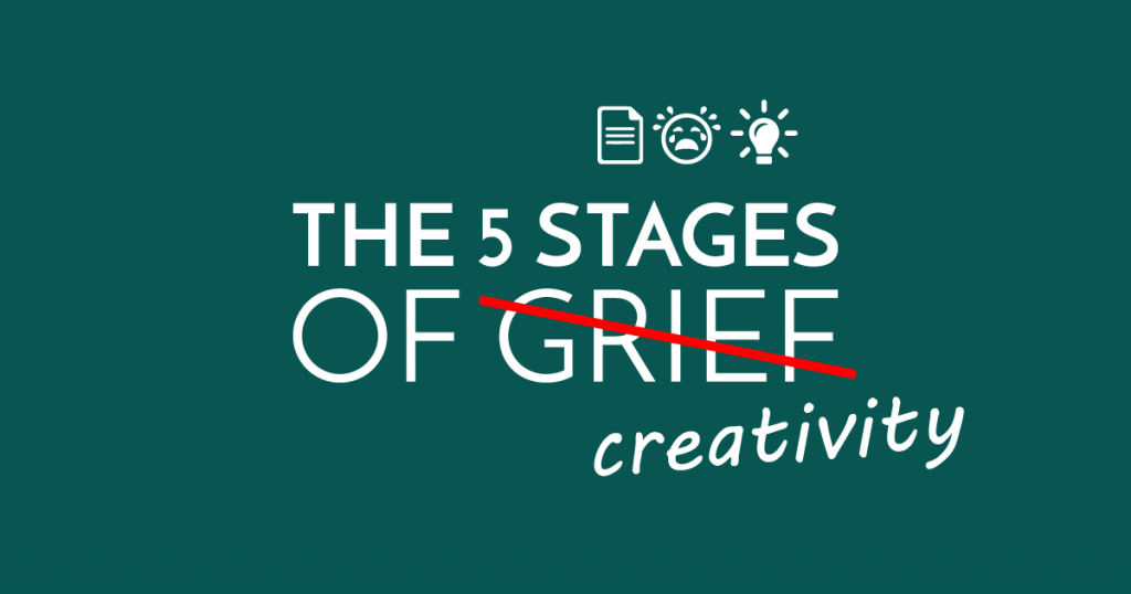 How to Be Creative in 5 Stages (Or, Why You'll Never Fit Into a Cubicle)