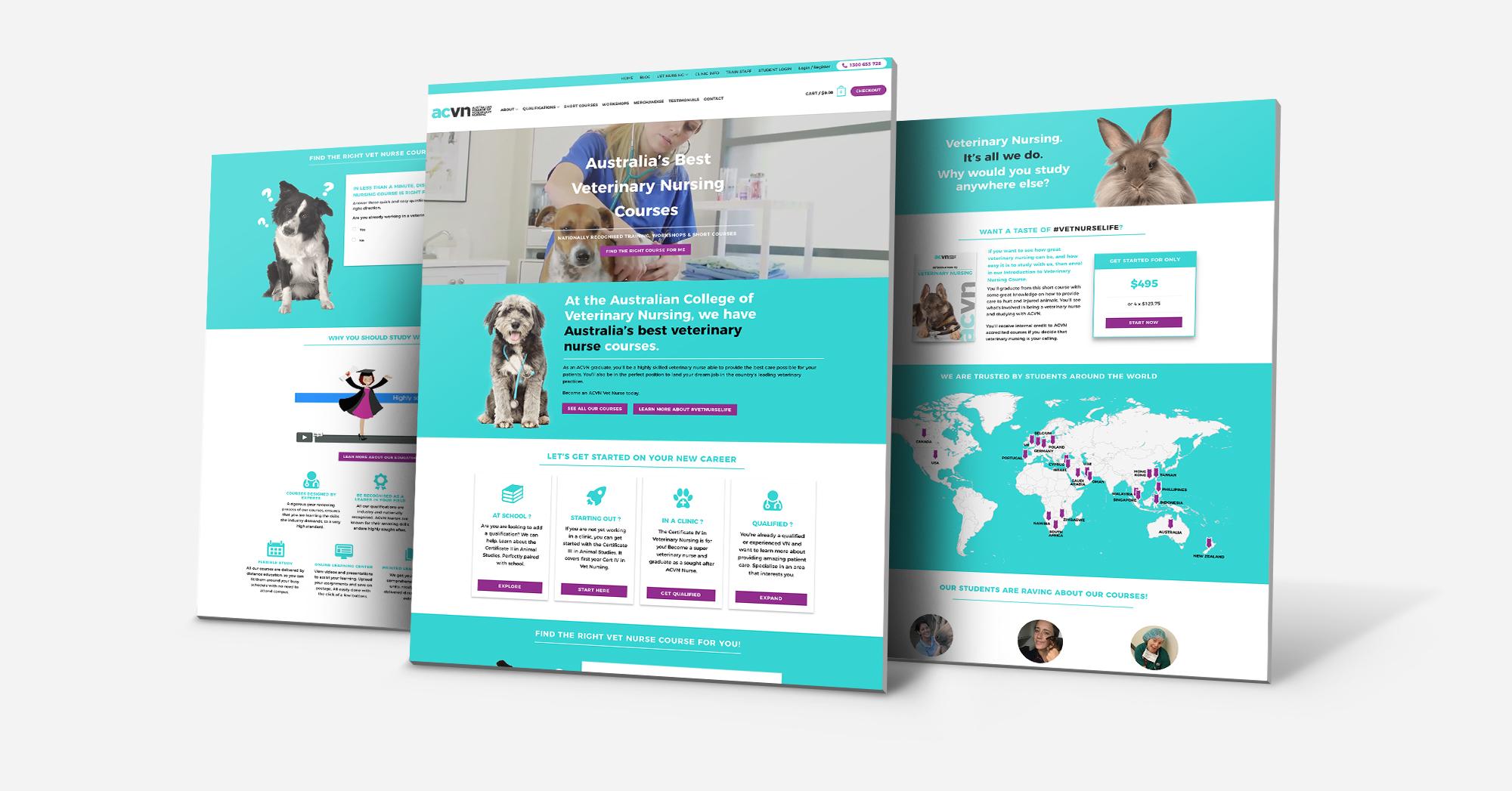 Ohm Spa homepage